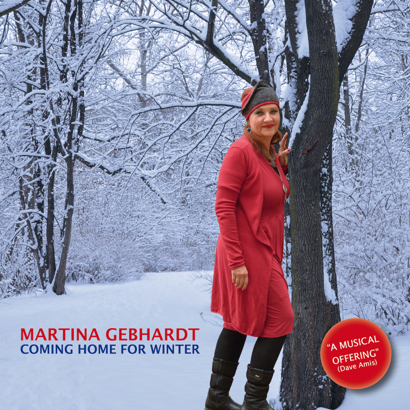 Cover Martina Gebhardt -Coming Home For Winter-