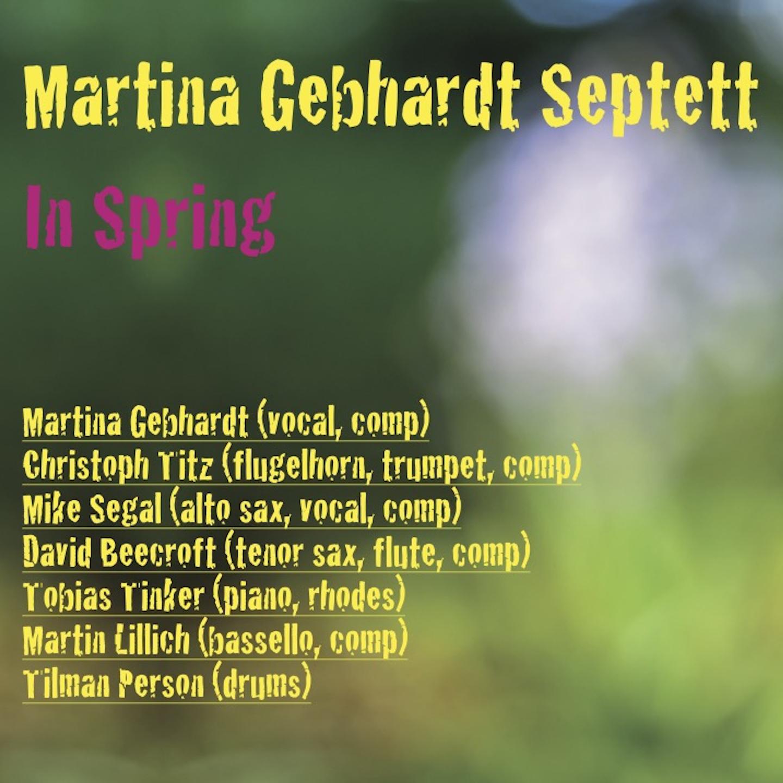 Cover Martina Gebhardt Septett